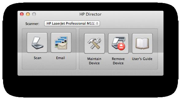 Hp director mac скачать